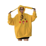 Poleron overzize pikachu